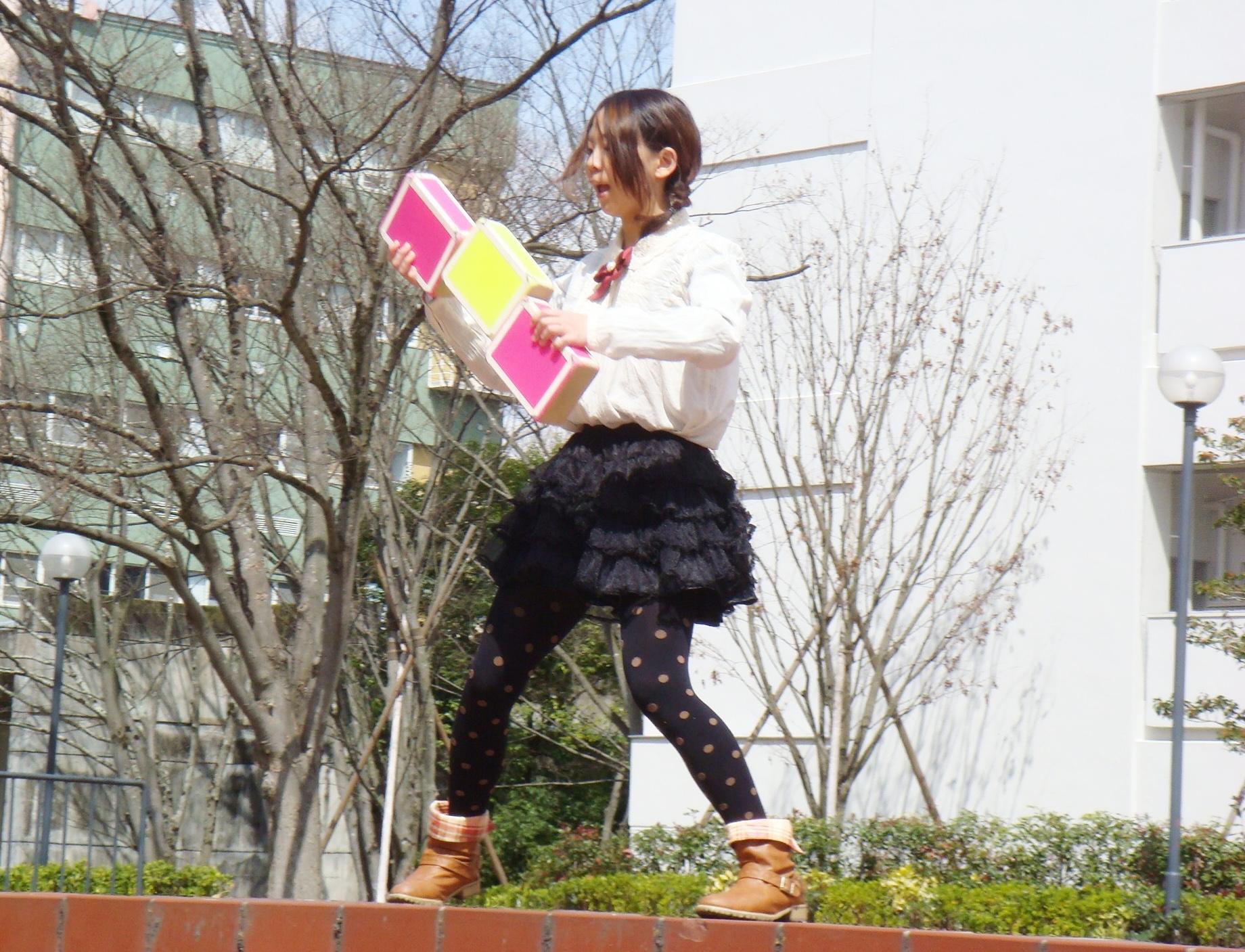 6 大阪芸大生 パフォーマンス